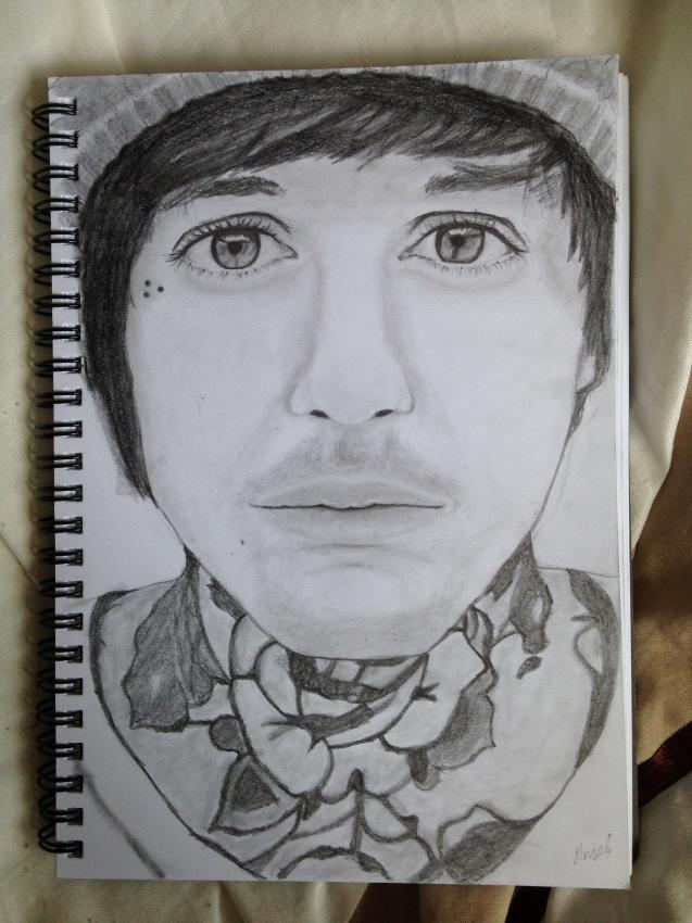 Oliver Sykes by amix144